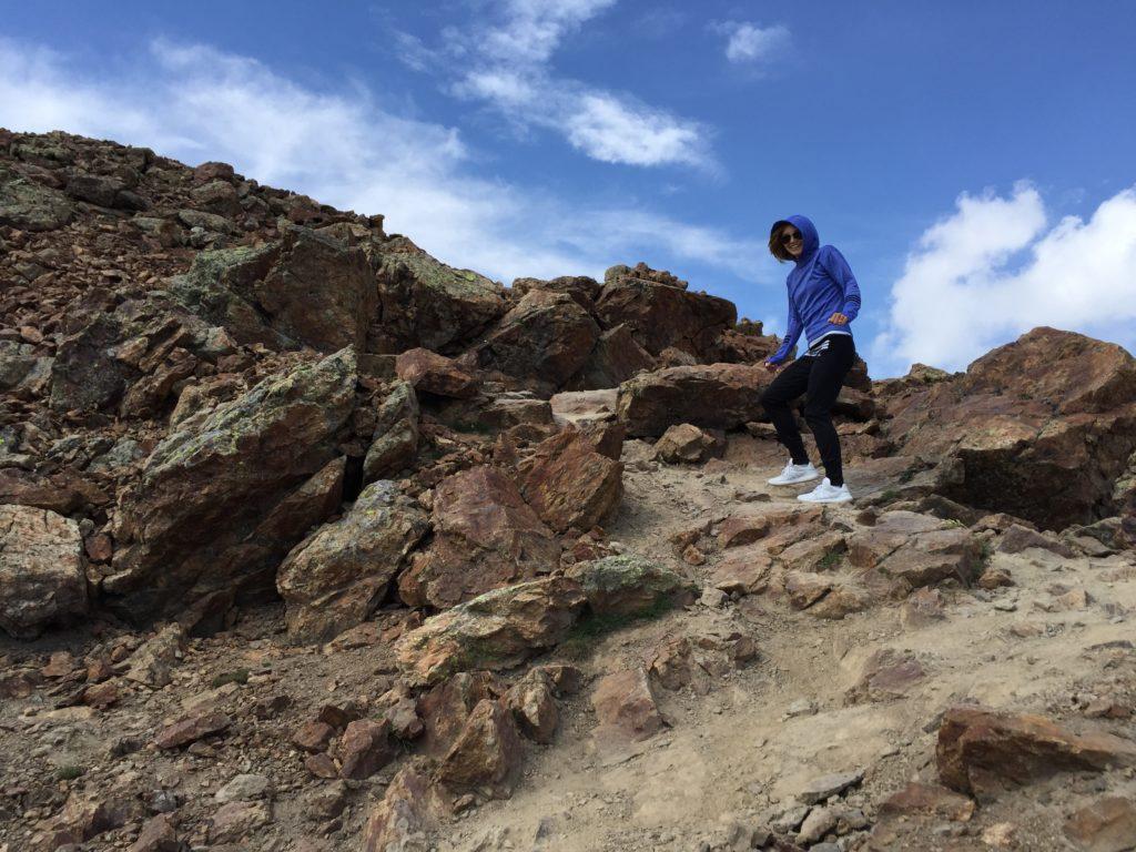 bieganie góry