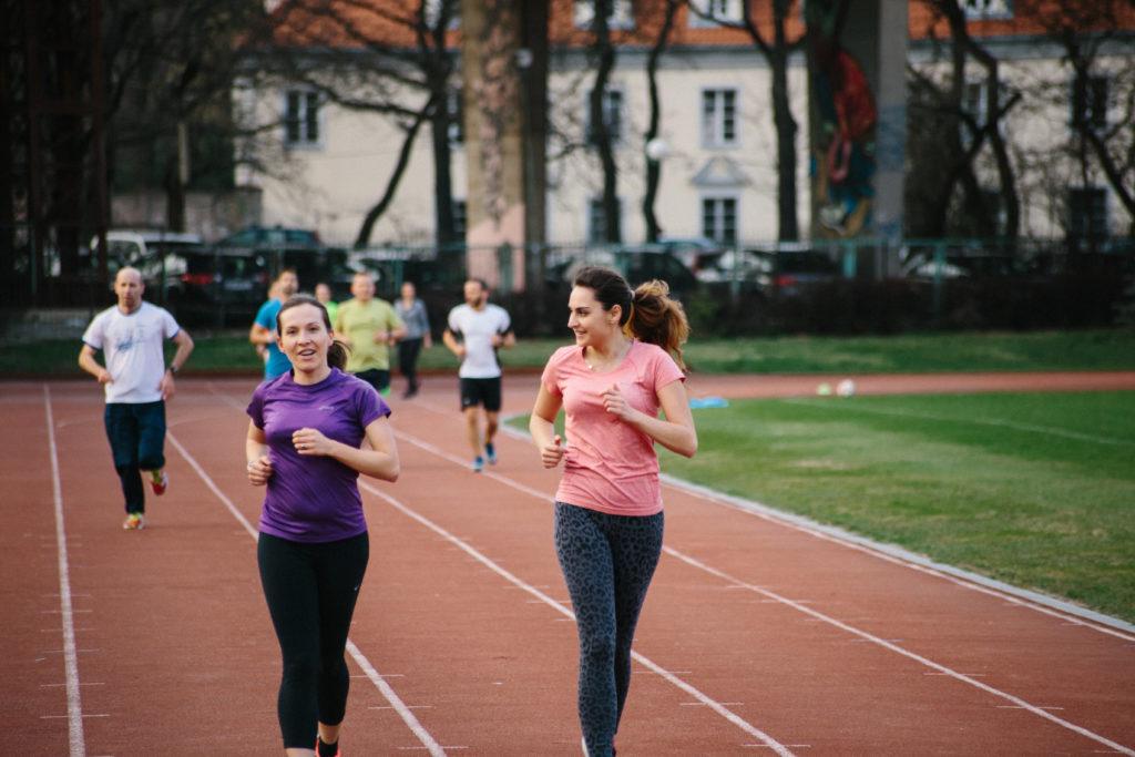 sila grup biegowych
