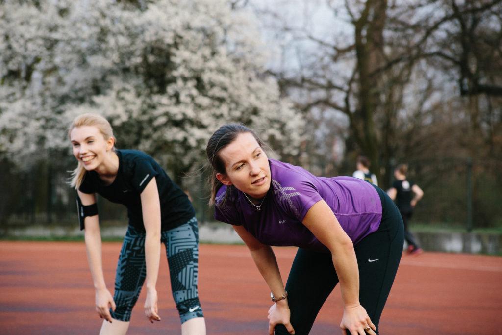 trening ligi biegowej
