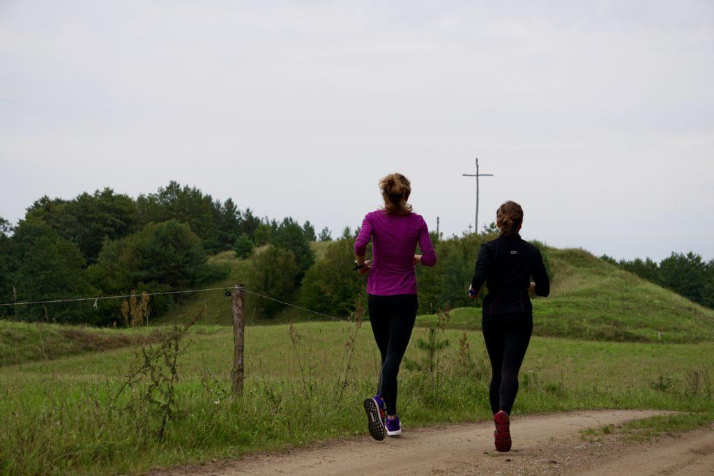 bieganie w towarzystwie